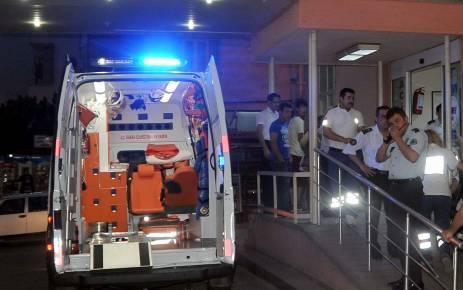 Giresun'da acil personeline saldırı