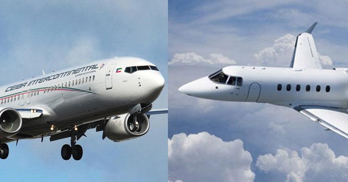 Havada Ambulans Uçak ile çarpışan Boeing yoluna devam etti