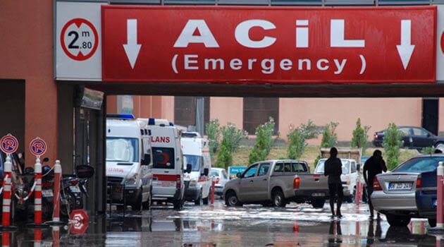 Diyarbakır'da 136 yataklı acil hastane açıldı