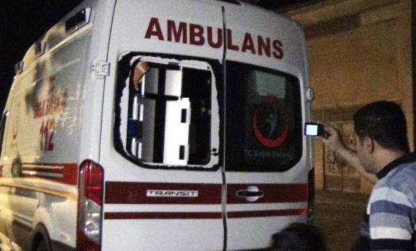 Mardin'de 6 Ambulans Saldırılara Maruz Kaldı