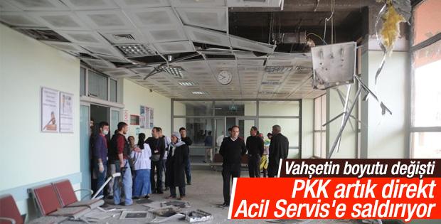 PKK'nın roketleri diyaliz ünitesi ile morgu vurdu