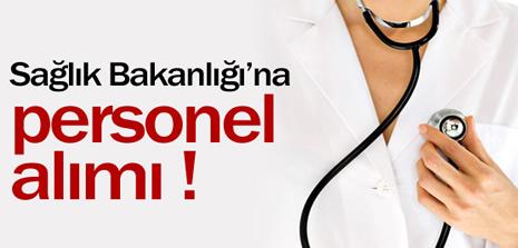 Sağlık Bakanlığına Personel Alımı !
