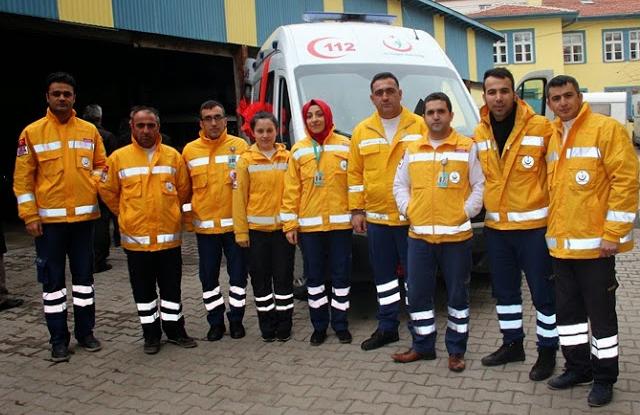 Çankırı'ya 2014 Model Tam Donanımlı Ambulans