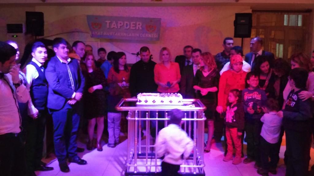 TAPDER Uşak 11 Şubat Etkinlikleri,Gala Yemeği ile Sona Erdi.