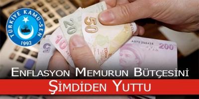 Enflasyon Memurun Bütçesini Yuttu