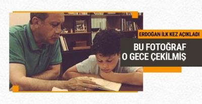 Erdoğan o fotoğrafla ilgili çarpıcı detayı açıkladı