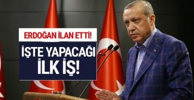 Erdoğan'dan referandum sonucuyla ilgili tarihi mesajlar!