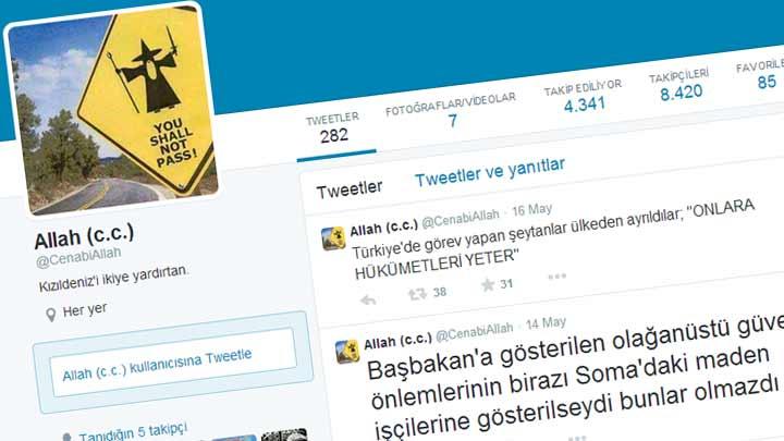 Twitter'da 'Allah' adıyla yazan öğretmene hapis