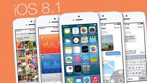 IOS 8.1 güncellemesi geliyor!