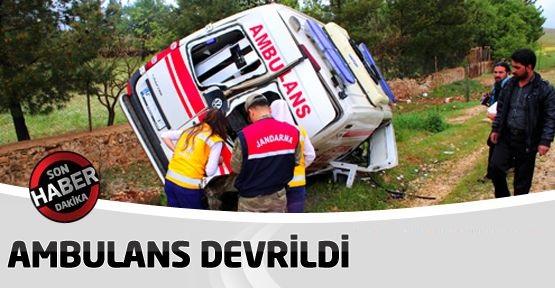 Ambulans Devrildi: ATT ve Hasta Öldü!