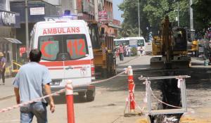 Ambulansların zor anı