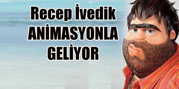Recep İvedik'in Animasyon Filmi Geliyor!
