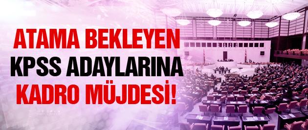 Atama bekleyen KPSS adaylarına kadro müjdesi!