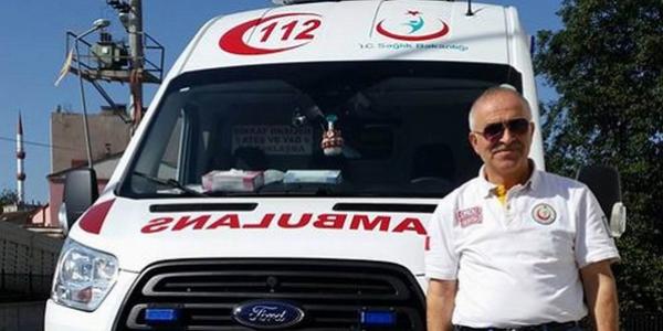 Hastaya müdahaleye giden ambulans şoförü darp edildi