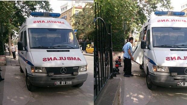 Ankara'da 'ambulans' nakliye