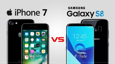Galaxy S8 ile iPhone 7 Plus hız testinde