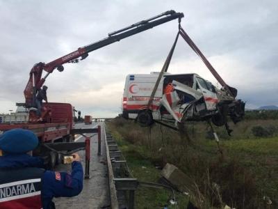 Ambulans Kazası,Paramedik Arkadaşımız Yoğun Bakımda