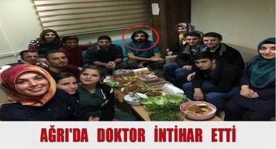 Genç doktor intihar etti