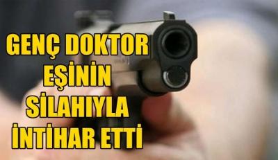 Genç Doktor İntihar Etti