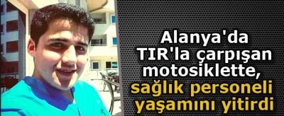 Genç Sağlıkçı Motosiklet Kazasında Yaşamını Yitirdi