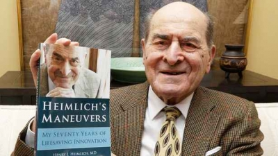 Heimlich manevrasının mucidi hayatını kaybetti