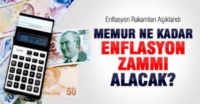 İlk 4 aydaki enflasyon rakamlarına göre, memurlar enflasyon zammı alacak