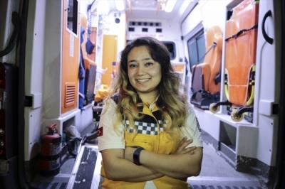 İstanbul'un Tek Kadın Ambulans Sürücüsü