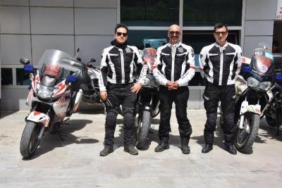 İzmir'de 112 Acil Servis motorize doktorları