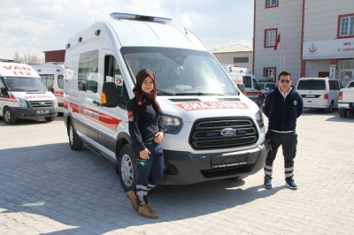 Kaymakamlıktan Tam Donanımlı Ambulans