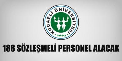 Kocaeli Üniversitesi 188 Sağlık Personeli Alımı Yapacak