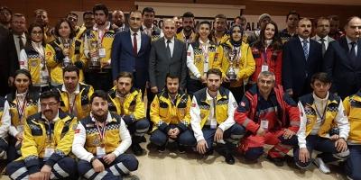 Konya Bölge Ambulans Rallisi Nefesleri Kesti