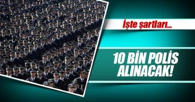 KPSS puanıyla 10 bin polis alınacak