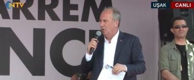 Muharrem İnce'den Cumhurbaşkanı Erdoğan'a 3600 Ek Gösterge Çağrısı