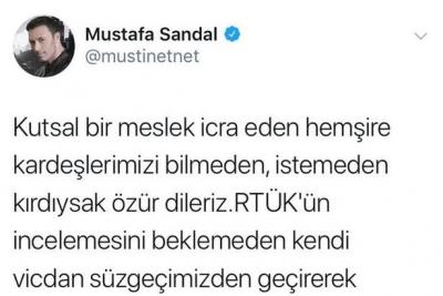 Mustafa Sandal olay klibi ile ilgili açıklama yaptı: 'Özür dileriz. O kareleri çıkartıyoruz'