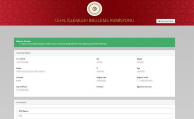 OHAL Komisyonu, Kabul ve Ret Bilgisini de Açıklamaya Başladı