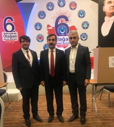 Önder Kahveci ; Türkiye Kamu Sen'in Yeni Genel Başkanı