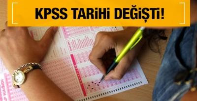 ÖSYM KPSS sınav tarihlerini değiştirdi