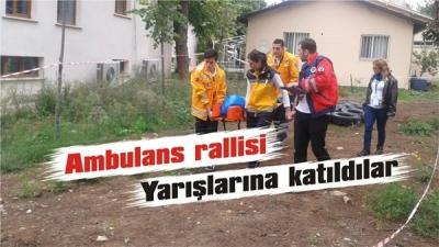 Paramedik adayları