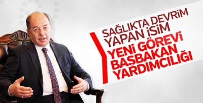 Recep Akdağ başbakan yardımcısı oldu