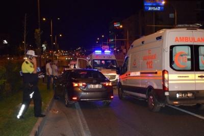 Sağlık Bakanı korumaları kaza yaptı: 7 polis yaralandı