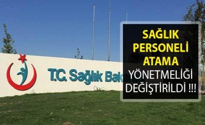 Sağlık Bakanlığı Atama ve Nakil Yönetmeliği Değişti
