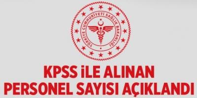 Sağlık Bakanlığı Personel Alımları İle İlgili Açıklama