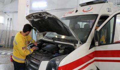 Sağlık Müdürlüğü kendi ambulans tamirhanesini kurdu
