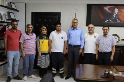 Sağlık Müdürü Öz, 112 çalışanlarını tebrik etti