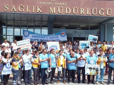 Sağlık-Sen'den Ankara 112 Ekipleri ile ilgili Basın Açıklaması