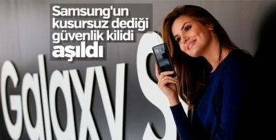 Samsung'un kusursuz dediği güvenlik kilidi aşıldı!