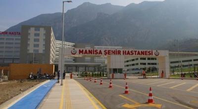 Şehir hastanelerine bir yenisi daha eklendi: Manisa Şehir Hastanesi
