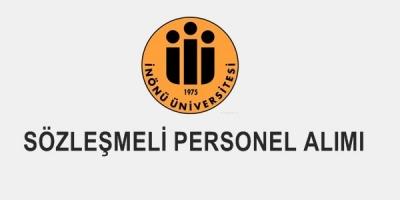 İnönü Üniversitesi 163 Sözleşmeli Sağlık Personeli Alım İlanı