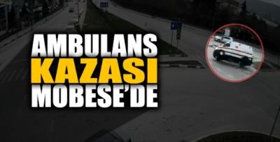 Tokat'ta Ambulans Kazası MOBESE Kameralarına Yansıdı