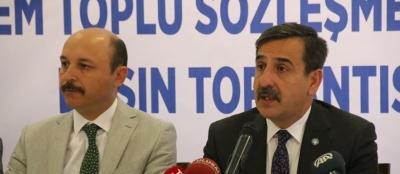 TSS: Toplu Sözleşme Talepleri Seyyanen 600 TL Zam Yüzde 10+10 Zam